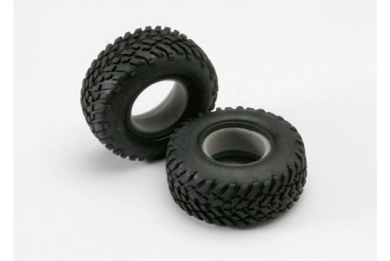 TRAXXAS запчасти Tires, off-road racing, SCT dual profile 4.3x1.7- 2.2/3.0'' (2)/ foam inserts (2) TRA5871